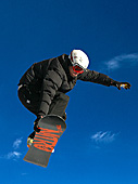 Snowboarder in the Alps, Photo Nr: snow002