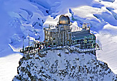 Switzerland, Jungfraujoch, Sphinx Observatorium, Top of Europe, Photo Nr.: a0476