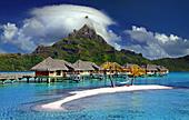Bora bora intercontinental resort and thalasso spa photo for Rangiroa urlaub
