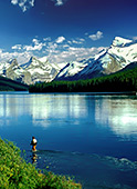 Canada, Jasper NP, Maligne Lake Photo Nr.: can003