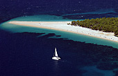 Croatia, Island Brac, Bol, Zlatni rat, Golden Goldenes Horn, Beach Strand, Photo Nr.: croatia0801