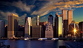 USA, New York City, Skyline, view from Brooklyn, Photo Nr: nyc032