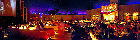 Sci-Fi Dine-In Theater in Disney´s Hollywood Studios Theme Park, Florida USA, Photo Nr.: usa105