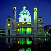 Austria, Vienna, Karlskirche (Karls Church), Photo Nr.: W1