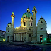 Austria, Vienna, Karlskirche (Karls Church), Photo Nr.: W02