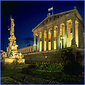 Austria, Vienna, Parlament (Parliament Building), Photo Nr.: W04