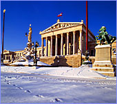 Austria, Vienna, Parlament, Photo Nr.: W133