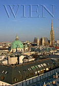 Austria, Vienna, Stephansdom (St. Stephan's Cathedral), left: Peterskirche, Photo Nr.: W1208