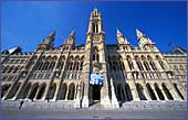 Austria, Vienna, Rathaus, Photo Nr.: W1355