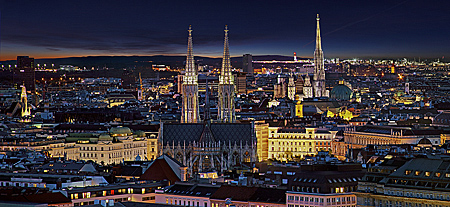 Vienna, City Panorama, Photo Nr.: W5563