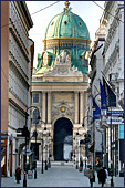 Vienna, Hofburg, Kohlnarkt, Photo Nr.: W2808