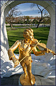 Vienna, Johann Strauss Monument, Photo Nr.: W2973