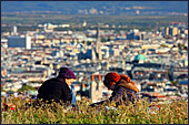 Vienna, View from Kobenzl, Photo Nr.: W3971