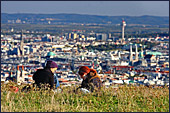 Vienna, View from Kobenzl, Photo Nr.: W3972