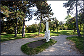 Vienna, Sankt Marx Friedhof, Mozart grab, Photo Nr.: W4030