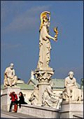 Vienna, Parlament, Photo Nr.: W4194