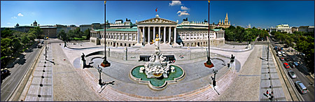 Vienna, Parlament, Photo Nr.: W4218