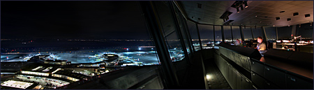 Vienna, Airport Wien- Schwechat, Control Tower, Photo Nr.: W4251