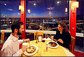 Vienna, Diner in Danube Tower, Photo Nr.: W4259