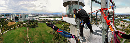 Vienna, Bungee Jumping, Donauturm, Photo Nr.: W4701