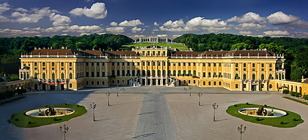 Vienna, Castle Schoenbrunn, Photo Nr.: W4800