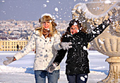 Austria, Vienna, Winter, People, Gloriette Schönbrunn, Photo Nr.: W4801