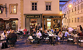 Vienna, Franziskanerplatz, Kleines Cafe, Photo Nr: W4959