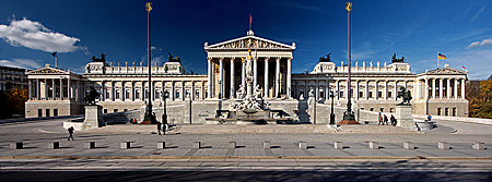 Vienna, Parlament, Photo Nr.: W5265