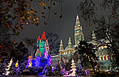 Vienna,  Adventzauber Rathauspark, Photo Nr.: W5305