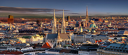Vienna, City Panorama, Photo Nr.: W5486