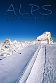 Switzerland / Italy, Matterhorn and Klein Matterhorn, Ski Area, Photo Nr.: a0756