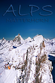 Switzerland / Italy, Matterhorn and Klein Matterhorn, Ski Area, Photo Nr.: a0761