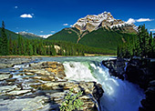 Canada, Athabasca Falls Jasper National Park Area, Alberta Photo Nr.: can009