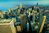 Chicago, View from John Hancock Tower, Photo Nr.: chic002