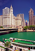 Chicago, Michigan Bridge and Wrigley Building, Photo Nr.: chic039