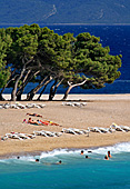 Croatia, Island Brac, Zlatni rat, Golden Goldenes Horn, Beach Strand,  Photo Nr.: croatia0830