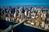 USA, New York City, Upper East Side, view from Helicopter, Photo Nr: nyc025