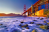 San Francisco, Golden Gate Bridge, China Beach, Photo Nr.: sfr001