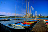 Austria, Vienna, Alte Donau (Old Danube), Photo Nr.: W368