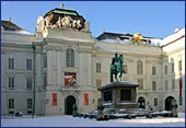 Austria, Vienna, Josefsplatz und Nationalbibliothek, Photo Nr.: W875