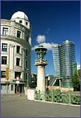 Austria, Vienna, Urania & Uniqua Tower, Photo Nr.: W1405