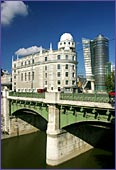 Austria, Vienna, Urania & Uniqua Tower, Photo Nr.: W1406