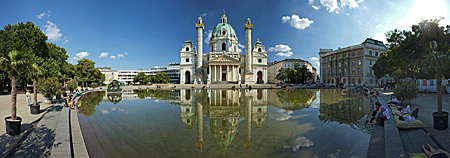 Vienna, Karlskirche, Photo Nr.: W5776