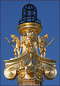 Vienna, Column at Parliament Building, Photo Nr.: W2376