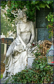 Vienna, Statue am Zentralfriedhof, Photo Nr.: W2836