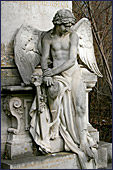 Vienna, Statue am Zentralfriedhof, Photo Nr.: W2838
