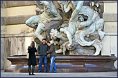 Vienna, Michaeler Platz, Statue, Photo Nr.: W2846