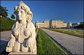 Vienna, Castle Belvedere, Photo Nr.: W3260