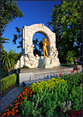 Vienna, Stadtpark, Johann Strauss Monument, Photo Nr.: W3293