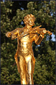 Vienna, Stadtpark, Johann Strauss Monument, Photo Nr.: W3294